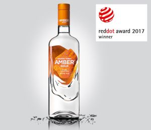 Amber Gold vodka award