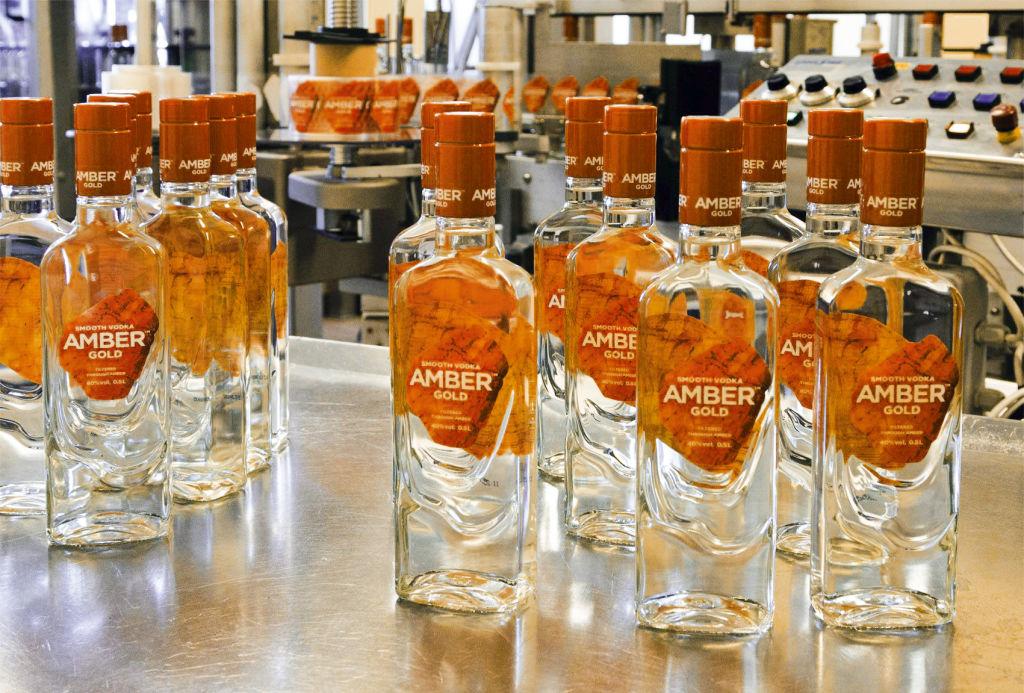 Amber Gold Vodka