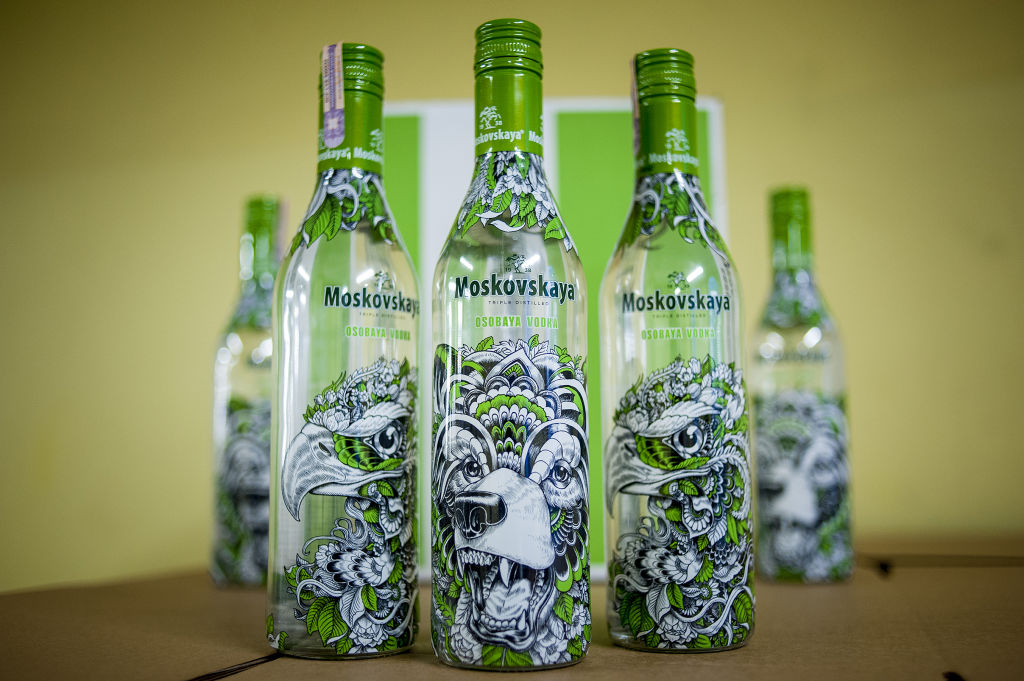 Moskovskaya Vodka limited edition