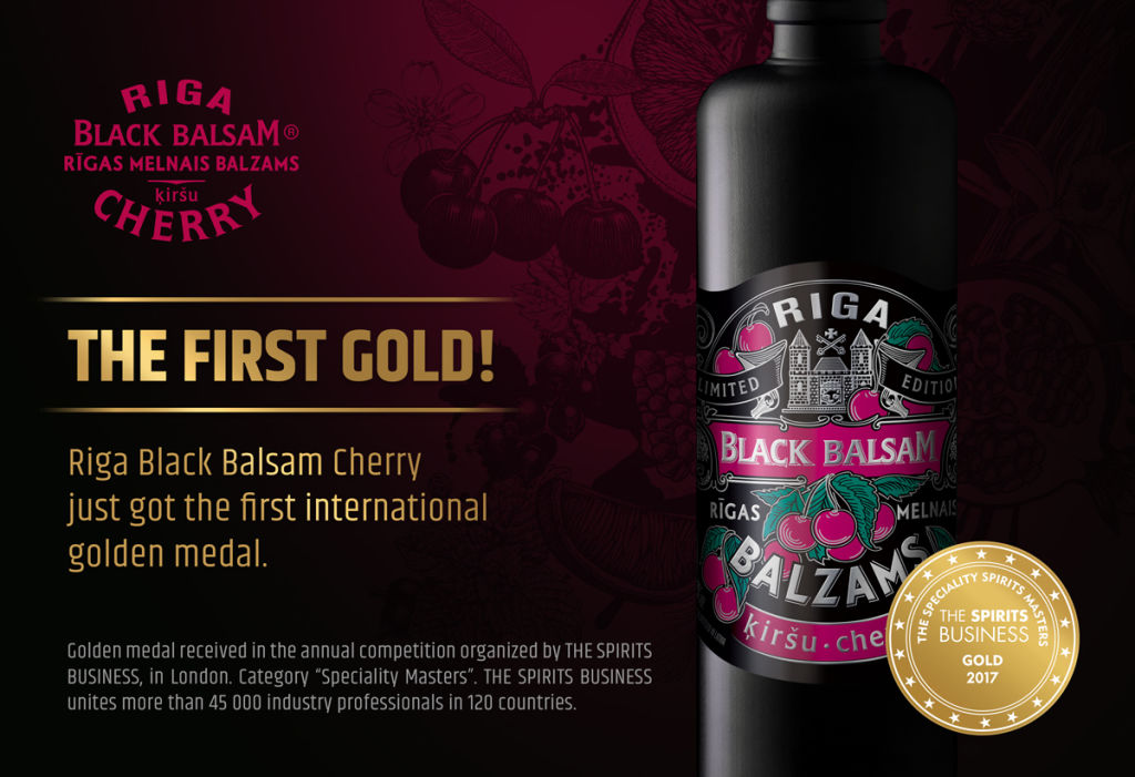 Riga Black Balsam Cherry gold medal