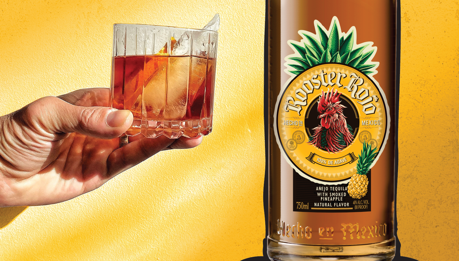 Rooster Rojo® Smoked Pineapple Tequila